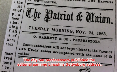 http://www.pennlive.com/opinion/index.ssf/2013/11/a_patriot-news_editorial_retraction_the_gettysburg_address.html