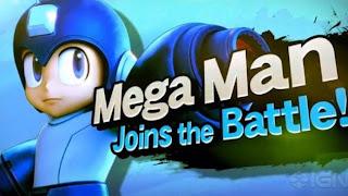 mega man confirmed for super smash bros for wii u 3ds