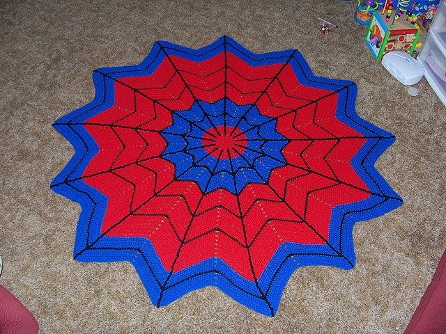 Spiderman 12 inches PDF crochet pattern by Chonticha on Etsy