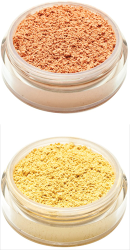 Correttori Minerali Peach e Yellow by Neve Cosmetics