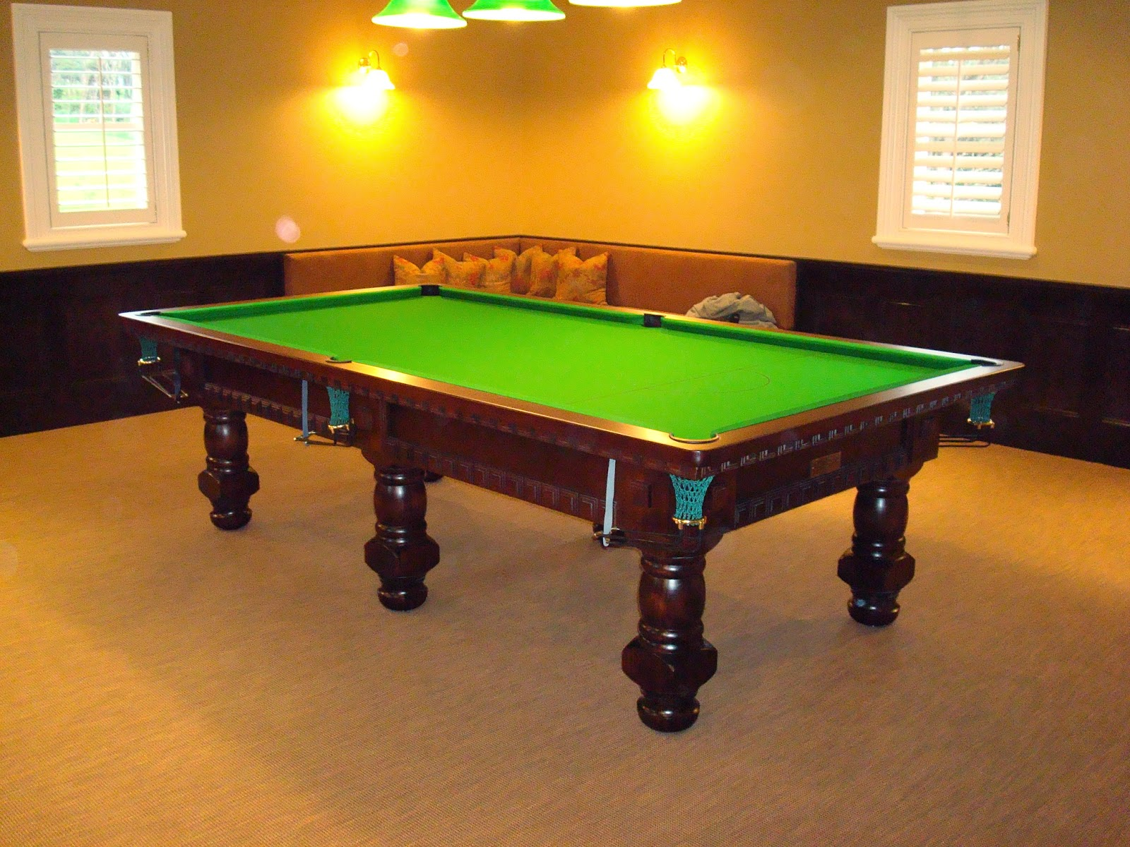 Willowbrook Park Billiard Table - Pool table painting