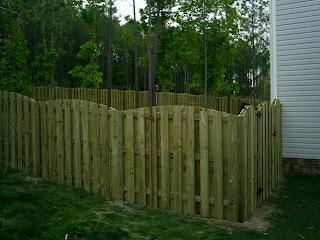 Деревянный забор. Фото 41
