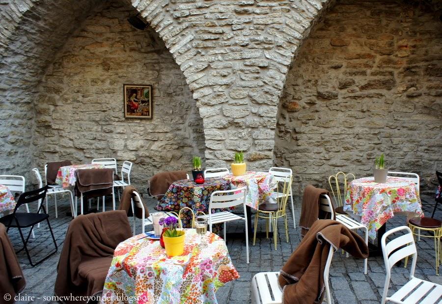 Outdoor café - Tallinn, Estonia