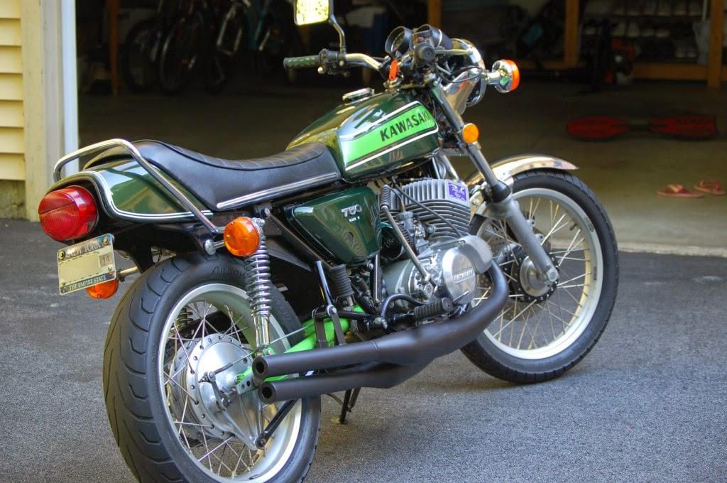 Spud S Blog 15th And 16th Vehicles Other Kawasaki Triples