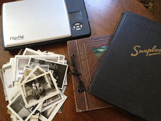 Olive Tree Genealogy Blog: Coupons for Flip-Pal Mobile Scanner & Using it to Archive a WW1 Photo Album