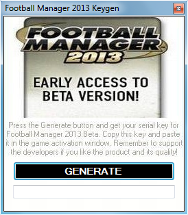 CD Key/Product Code/Steam Code for Football Manager 2012