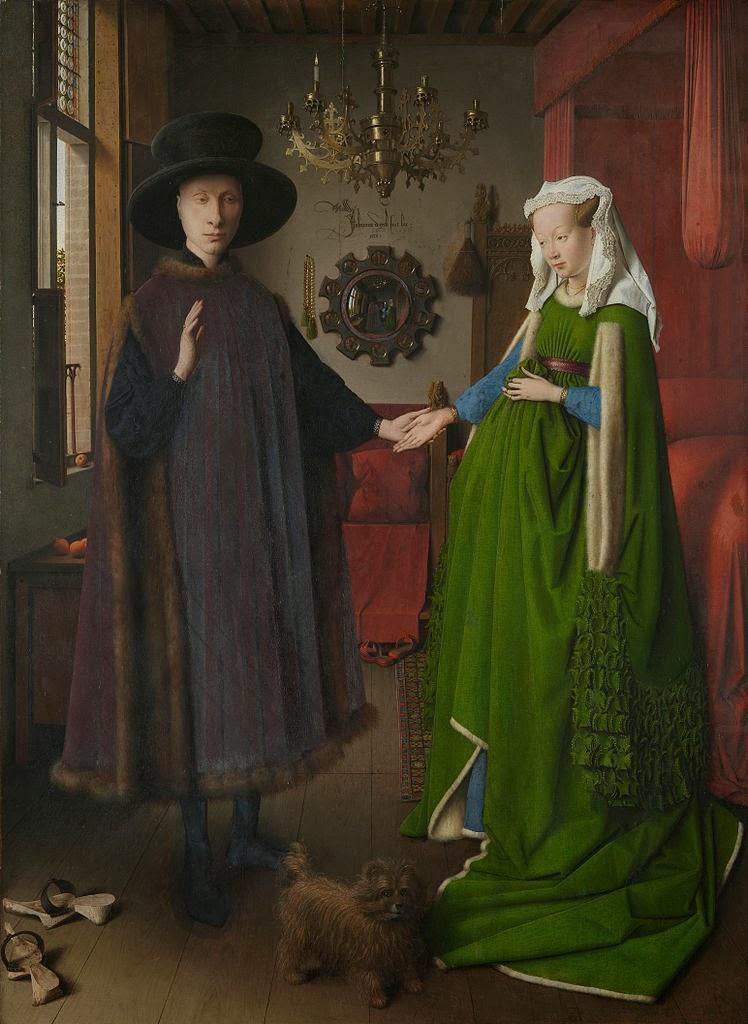 El matrimonio Arnolfini, 1434
