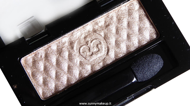 Rimmel - Glam'Eyes Mono: Swatch e review dell'ombretto 102 Backstage.