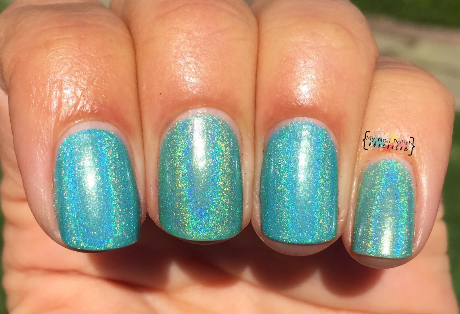 Cupcake Polish Sea Colored Glasses comparison