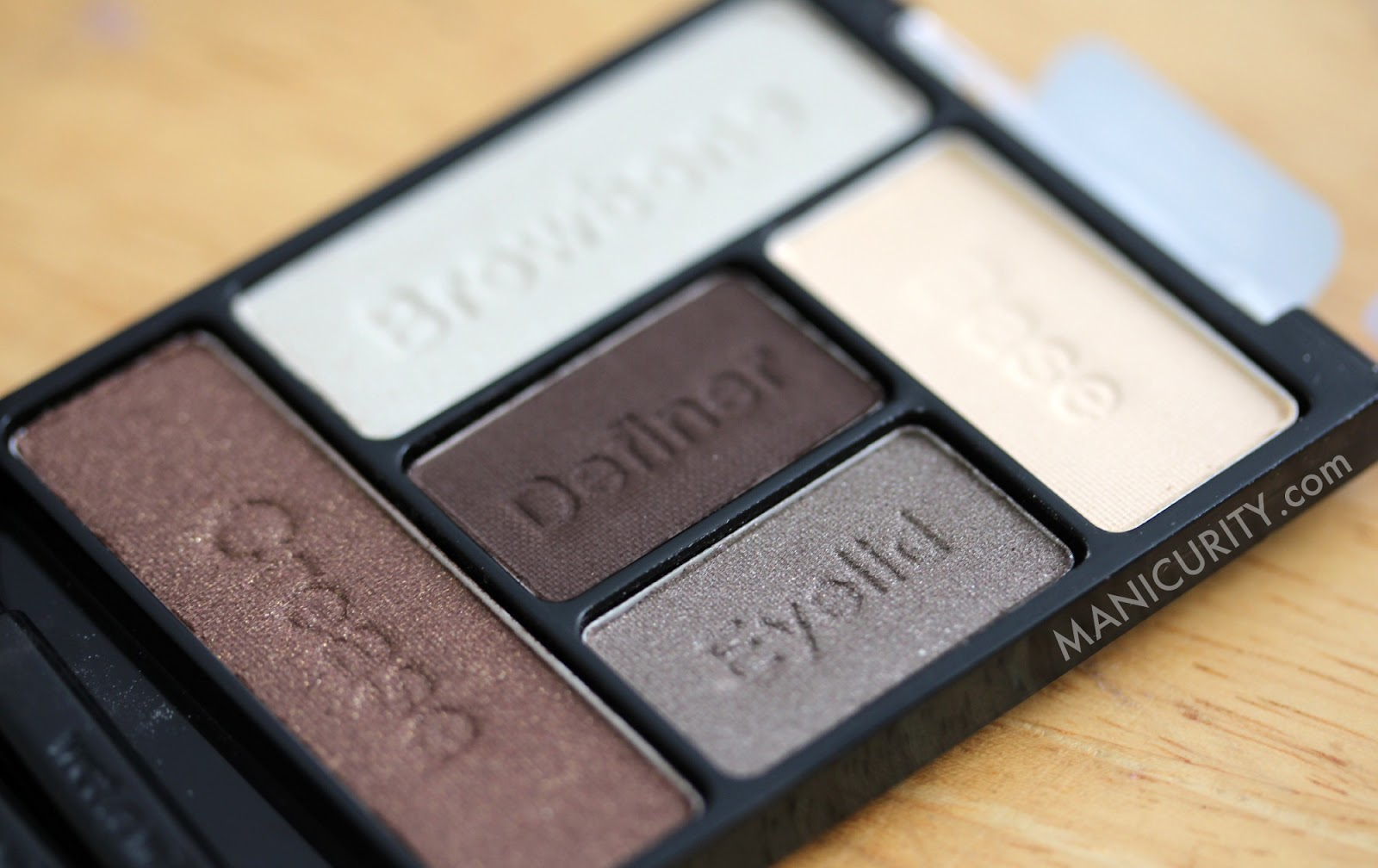 Wet N Wild 5pan Color Icon Eyeshadow Palette In 'the Naked Truth'  Manicurity: