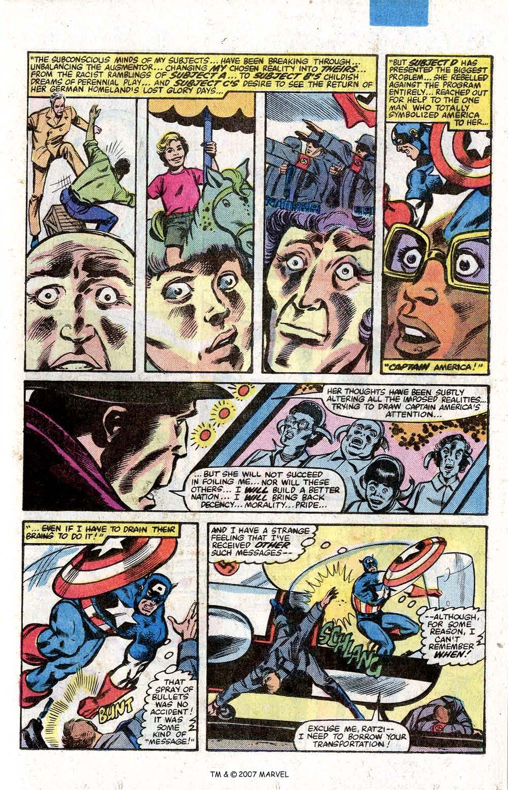 Captain America (1968) Issue #264 #179 - English 25