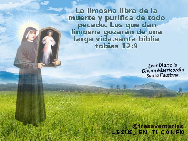 divina misericordia y unh santo