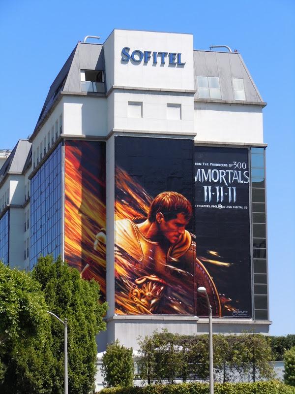 Henry Cavil Immortals teaser billboard