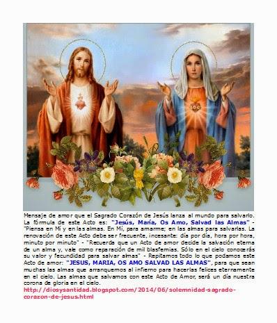 Corazones Jesús y María