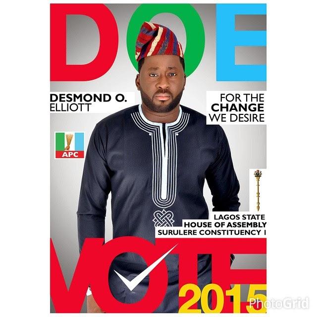 Desmond Elliot On The Cover of DOE