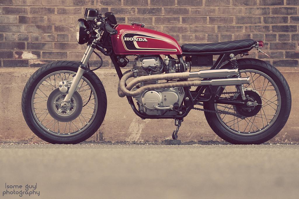 1975 Honda CB360 Cafe