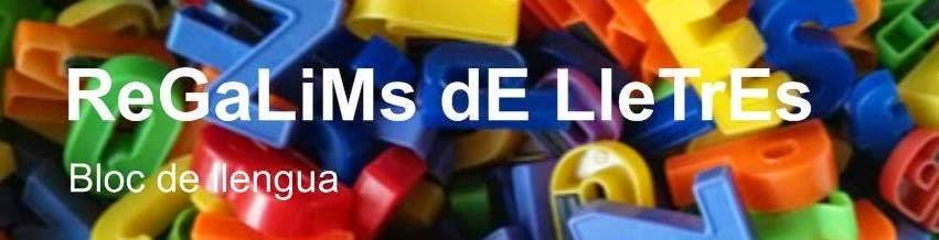 REGALIMS DE LLETRES