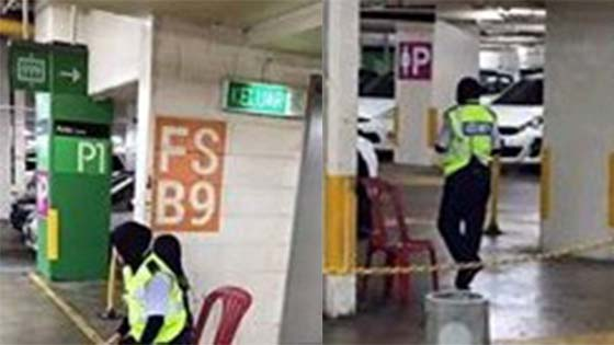 Lelaki Mengamuk Tak Faham Konsep Ladies parking