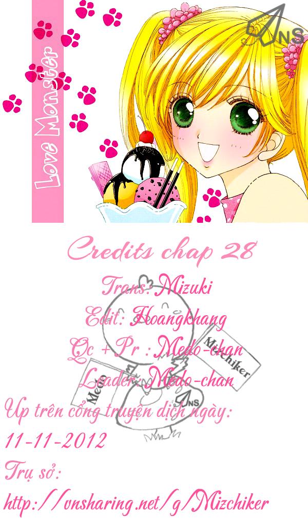 Love♥Monster chap 28 - Trang 29