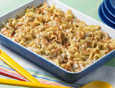 Maryland Crab & Noodle Casserole