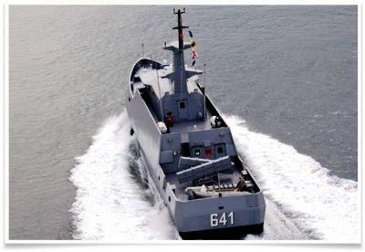 Kapal Cepat Rudal 40 - KRI Clurit 641 TNI-AL