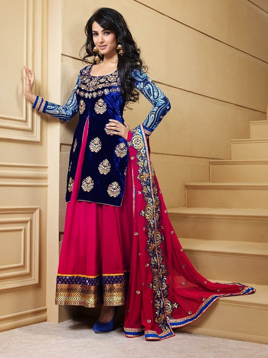 Sonal Chauhan Suits Skysarees