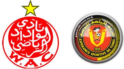 مباراة الوداد المغربي والترجي التونسي