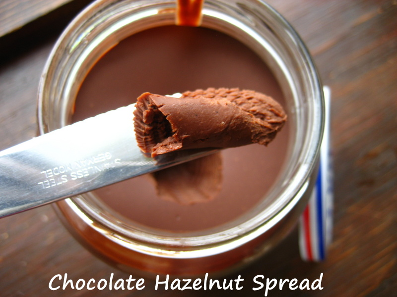 Heavenly Chocolate Hazelnut Almond Spread Recipe — Dishmaps