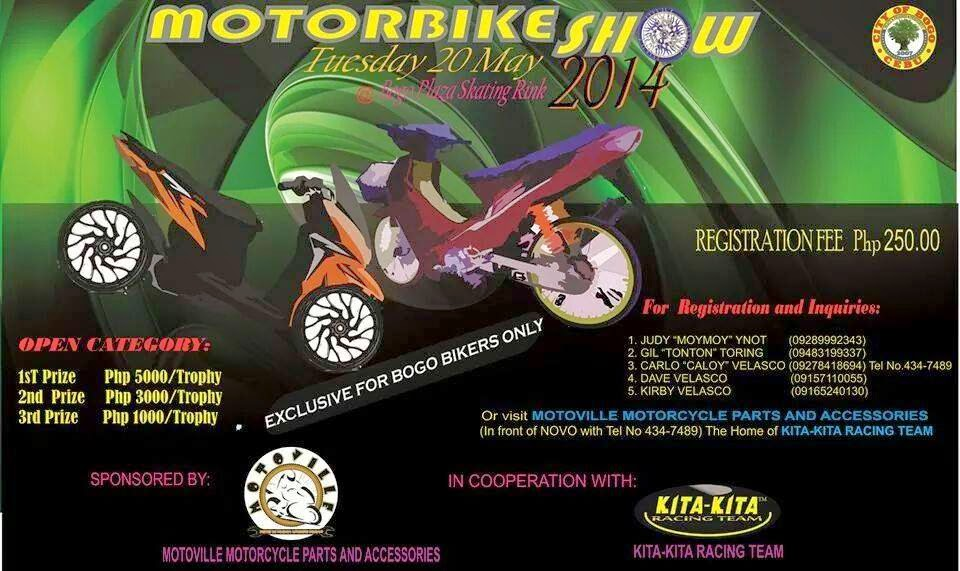 Bogo City Motorbike Show 2014