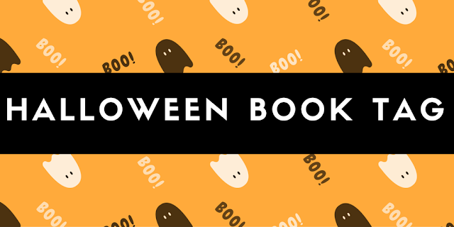 HALLOWEEN BOOK TAG!