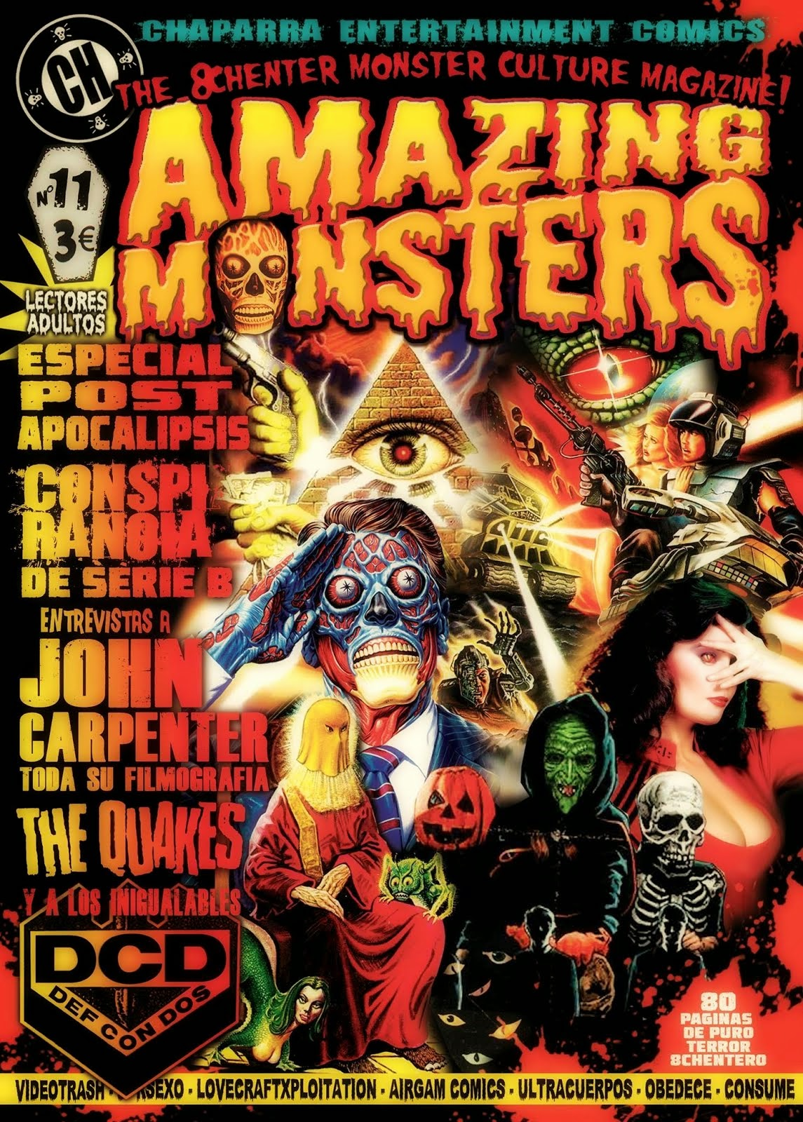 AMAZING MONSTERS MAGAZINE