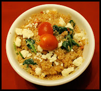 http://foodiefelisha.blogspot.com/2012/11/roasted-tomato-spinach-and-quinoa-bowl.html