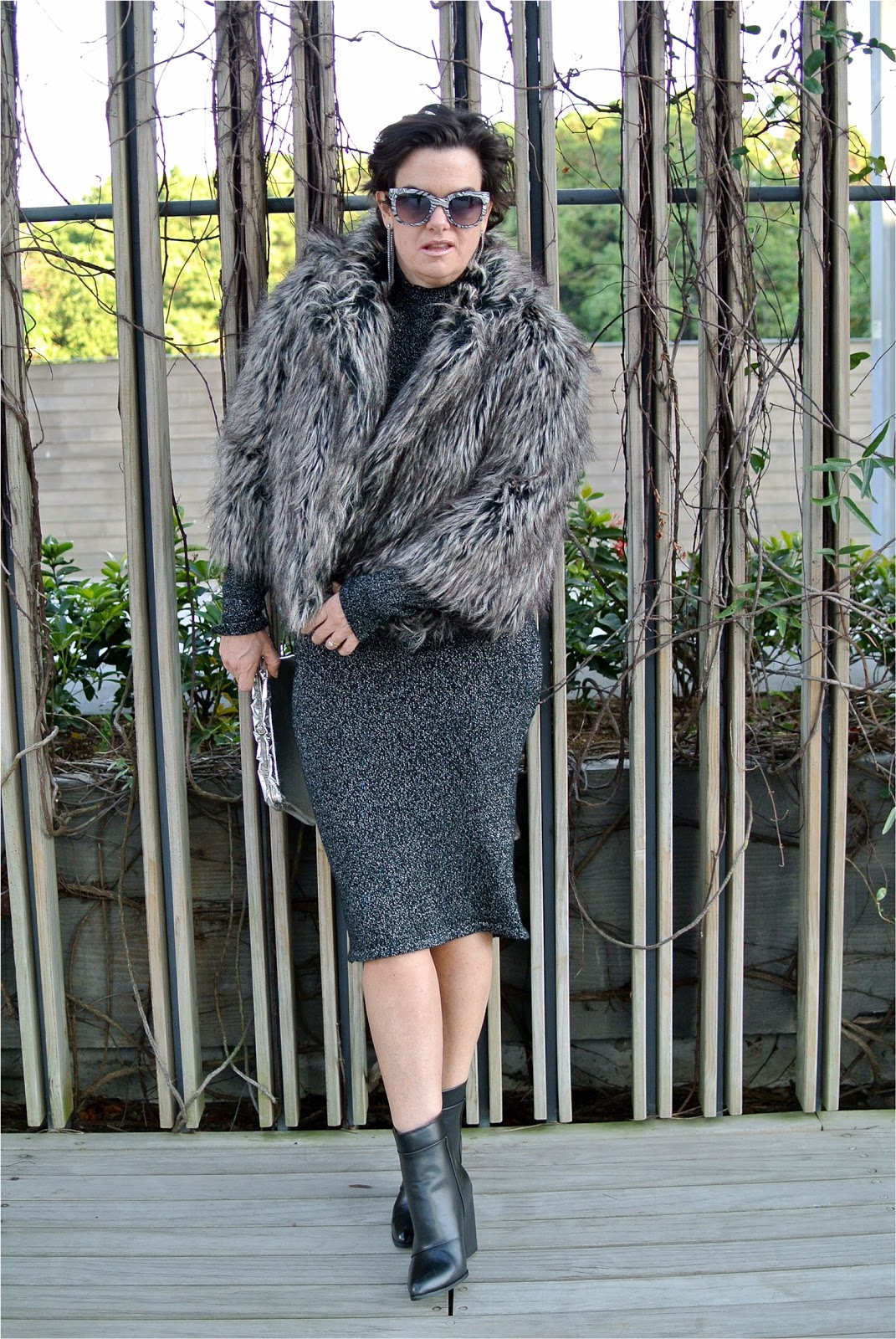 The Fab 40s Style Faux Fur My Midlife Fashion