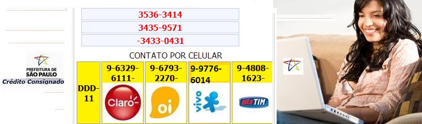 Quer +Crédito ?  Prefeitura de São Paulo Empréstimo Consignado-PMSP-IPREM