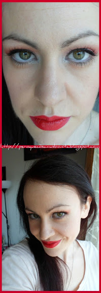 MAQUILLAJE ROJO + SHOCKING PINK = FRENCH KISS
