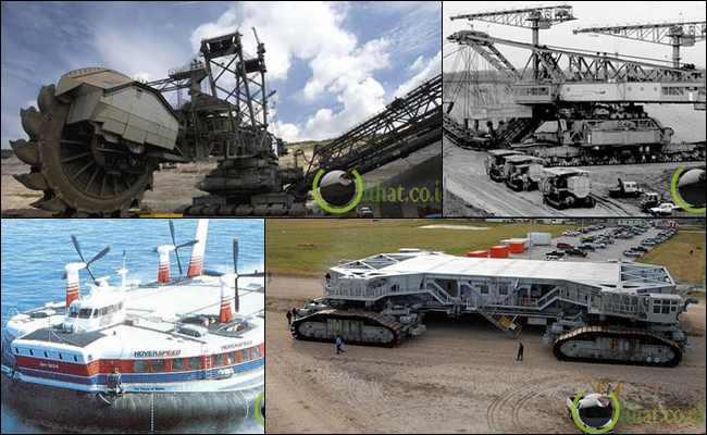 12 Mesin Super Besar yang pernah di Buat Manusia di Dunia