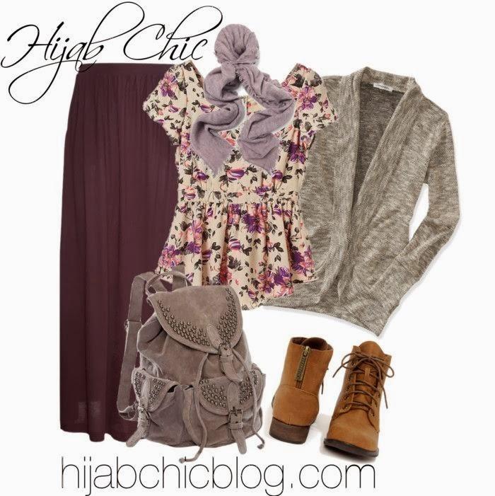 أكثر من 100 كوليكشن شتوى أنيق للمحجبات من Hijab Chic - مجلة جمال حواء
