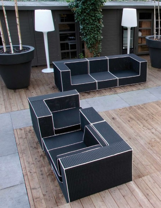 image black wicker outdoor furniture wicker patio loveseat resin all weather white furniture outdoor indoor black garden furniture