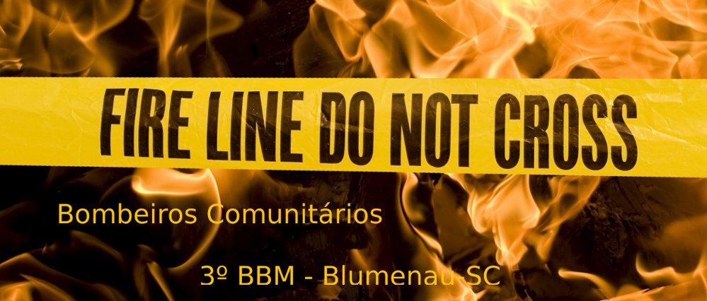 Bombeiros Comunitários de Blumenau - 3º BBM
