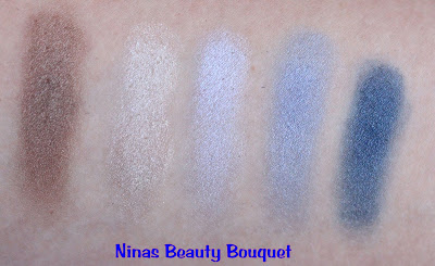 essence LE nauti Girl [Review] - Eyeshadowpalette 01 cool breeze + Blush 01 anchors aweigh!