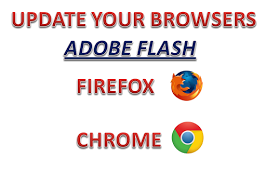HOW TO UPDATE YOUR BROWSERS