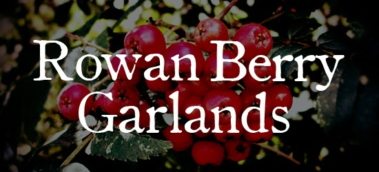 Rowan Berry Garlands & Necklaces