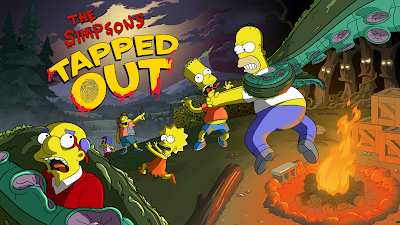 The Simpsons: Tapped Out 4.17.1 Halloween [SUPER MOD]