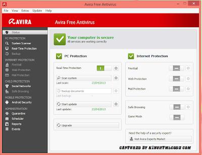 Kelebihan Avira Free Antivirus