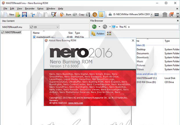 nero burner free download windows 10