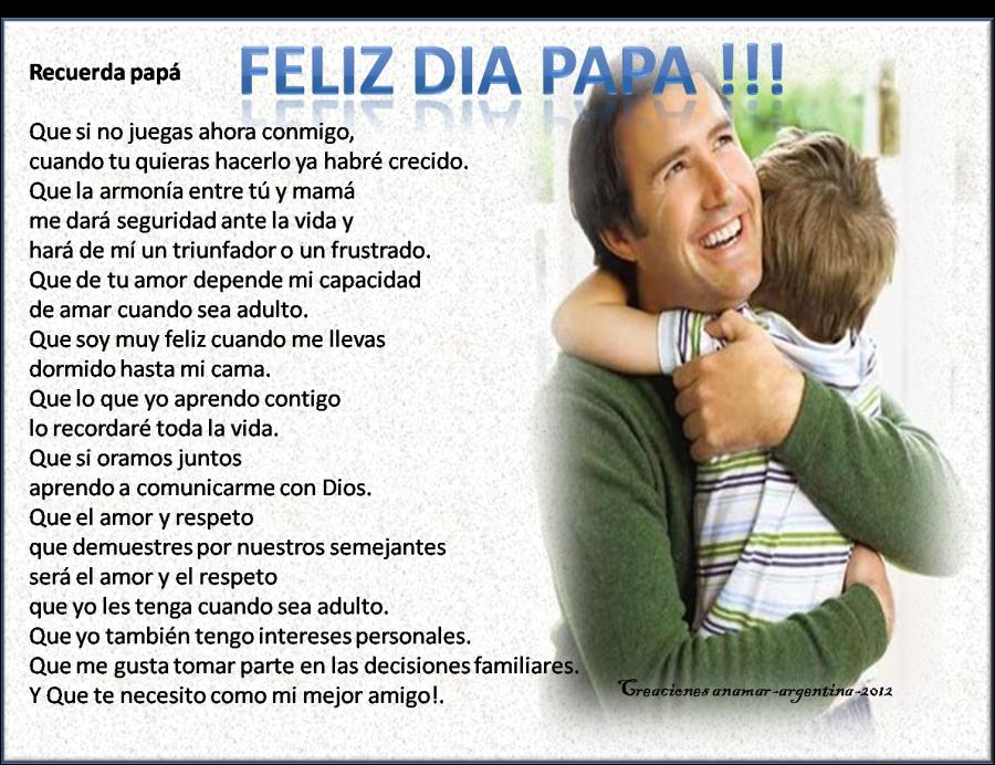 Poemas Cristianos Para El DIA Del Padre