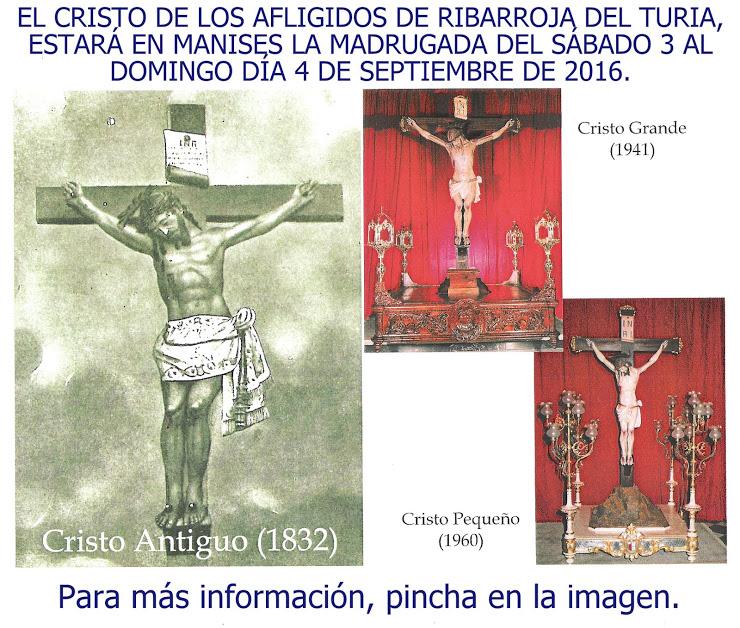03.09.16 EL CRISTO DE LOS AFLIGIDOS DE RIBARROJA DEL TURIA, PASA POR MANISES