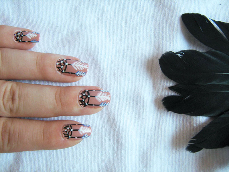 The Cool Dreamcatcher nail designs Images