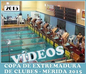 Vídeos de natación Extremeña.