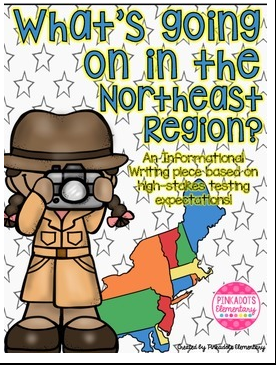 https://www.teacherspayteachers.com/Product/Northeast-Region-Informational-Writing-Based-on-High-Stakes-Testing-Expectations-2016988